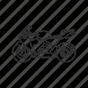 big motorcycle, bike, motor, motorcycle, ride, speed, crotch rocket