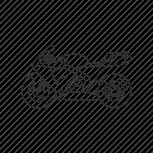 big motorcycle, bike, crotch rocket, motor, motorcycle, ride, speed icon