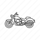 bike, cycle, engine, motor, motorbike, motorcycle, speed icon