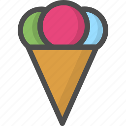 cold, cream, freeze, fruit, globe, ice icon