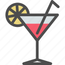 beach, cocktail, drink, fruit, summer icon