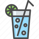drink, fresh, fruite, lemonade, liquid, summer icon