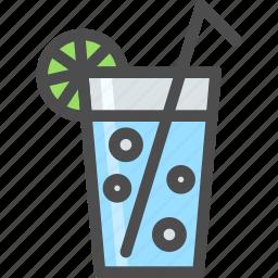 drink, fresh, fruite, lemonade, liquid, summer icon