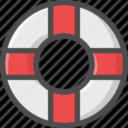 life, lifeguard, redeemer, saver, water icon