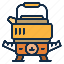 camping, cooking, gas, kitchen, outdoor, stove icon