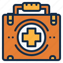 aid, bag, first, medical, medicine icon