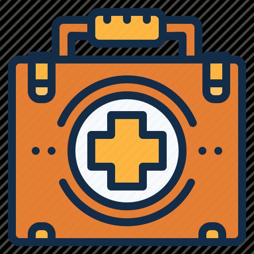 aid, bag, first, medical, medicine icon