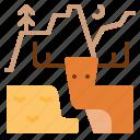 deer, forest, landscape, outdoor, trees