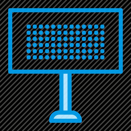 ad, advertisement, advertising, billboard icon