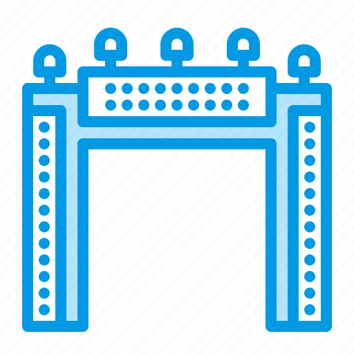 ad, advertisement, advertising, gate, welcome icon