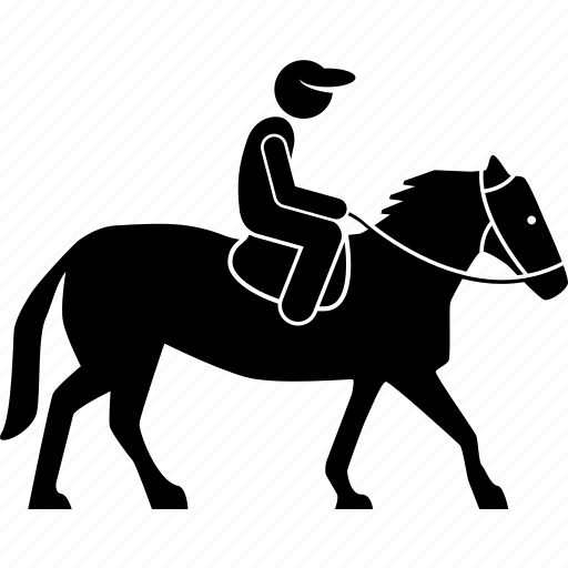 equestrian, equine, horse, riding icon