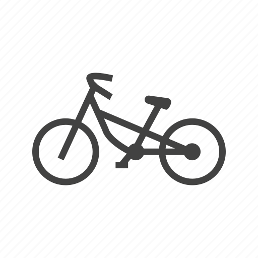 bicycle, bike, cycling, cyclist, mountain, sport, work icon