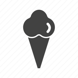 cone, cream, cup, frozen, ice, icecream, yogurt icon