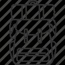 backpack, bag, camping, travel, trip