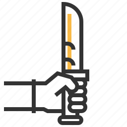 climbing, knife icon