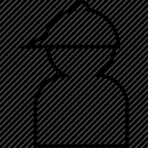 avatar, man, person, player, profile, sportman, user icon