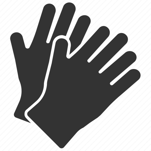 clothing, gloves, hands, safety icon
