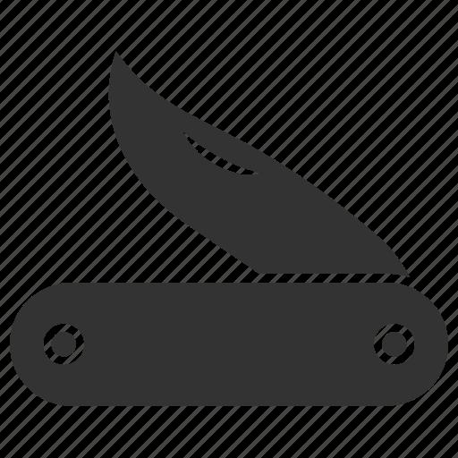 blade, cutter, knife, swiss knife icon
