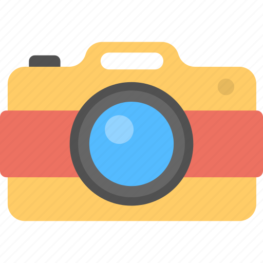 flash camera, photo camera, photographer, photography, retro camera icon