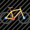 bicycle, cycle, push bike, sport bicycle, two wheeler icon