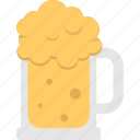 alcohol, beer mug, beverage, foamy drink, wine icon