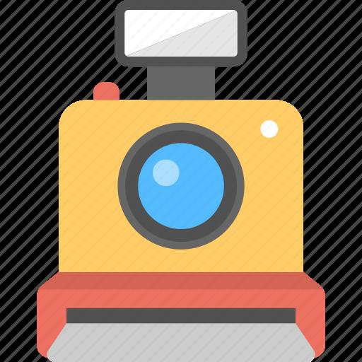 Instant Image Developer Photo Camera Photography Polaroid Vintage Icon