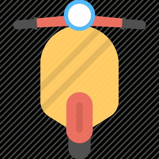 scooter, vehicle, vespa, vespa scooter icon