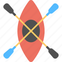 boat with pedals, fishing boat, peddle boat, transportation, travelling icon
