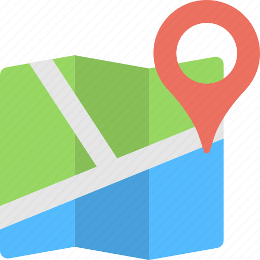 Address navigation, geolocation, gps, location map, map placeholder icon - Download on Iconfinder