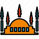 building, monument, mosque, nature, outdoor, places, religion icon