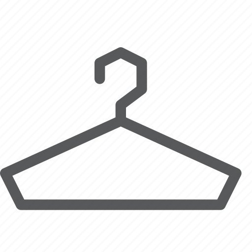 clothes, dress, hanger, laundry, outfit, shopping, suit icon