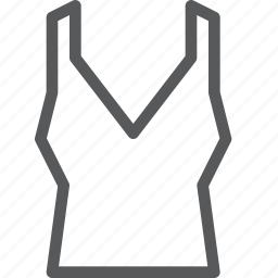 clothes, outfit, tank, top, undergarment, undershirt, underwear icon