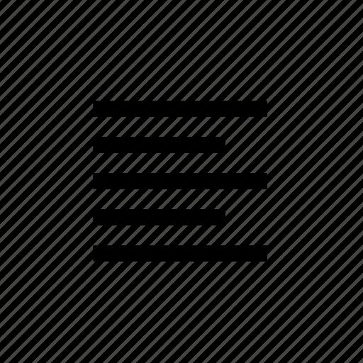 align, font, left, paragraph icon