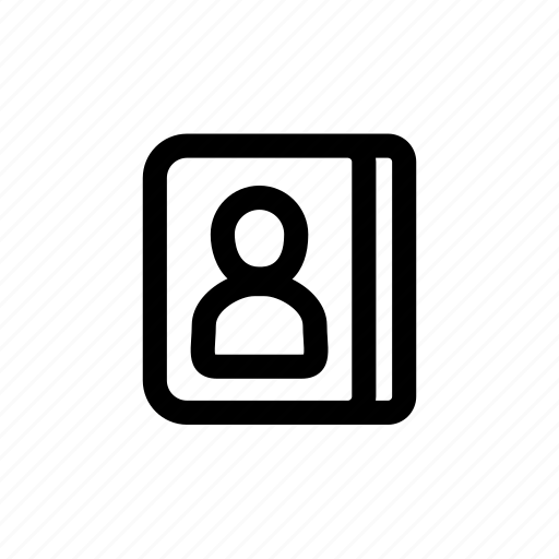 call, contact, description, information, profile icon