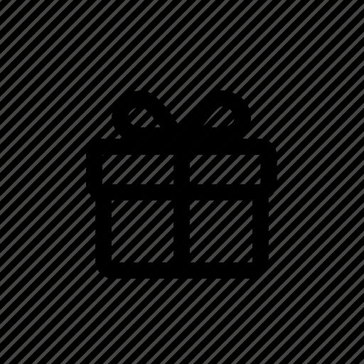 Gift, donation, reward, present, prize icon