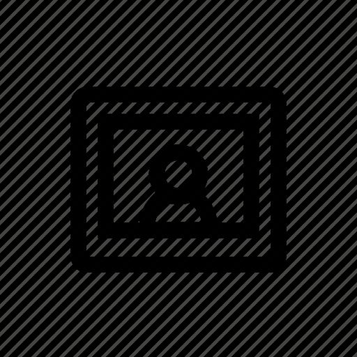 avatar, personal, photo, profile, profile photo icon