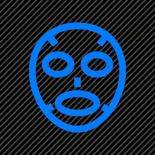 facial, mask icon
