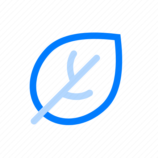 leaf, natural, nature icon