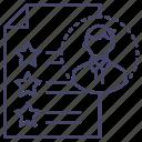 avatar, cv, profile icon