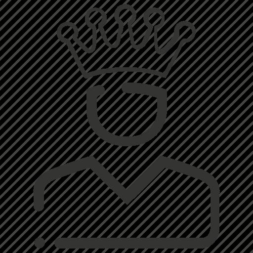 business, ledder, top, winner icon