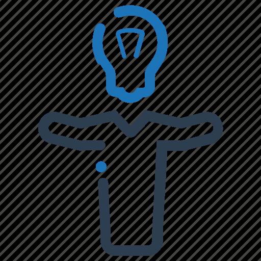 brainstorming, business idea, creativity, thinking icon