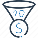 idea, money making, strategy icon