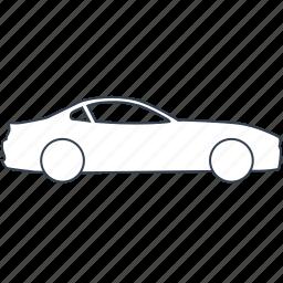 automobile, car, cars, coupe, roadster, sportcar, vehicle icon