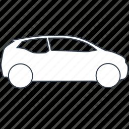 automobile, bmw, car, eco, ecology, electric, i3 icon