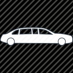 car, limousine, luxury, sedan, vehicle, vip icon