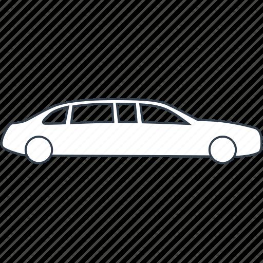 Car Limousine Luxury Sedan Vehicle Vip Icon