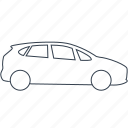 automobile, car, cars, mpv, vehicle icon