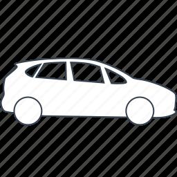 automobile, car, cars, mpv, vehicle icon