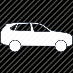 automobile, car, off, road, suv icon