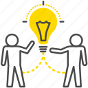 business, collaboration, group, idea, partners, team icon